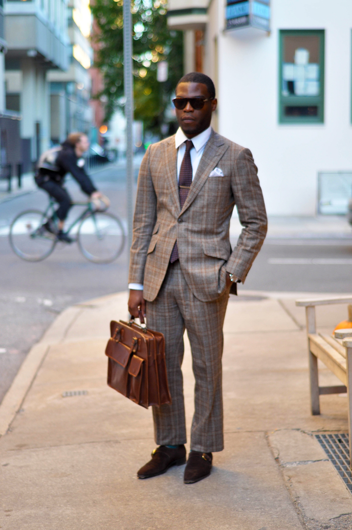 Btw This Is What A Phineas Cole Suit Looks Like On A Real Person Styleforum
